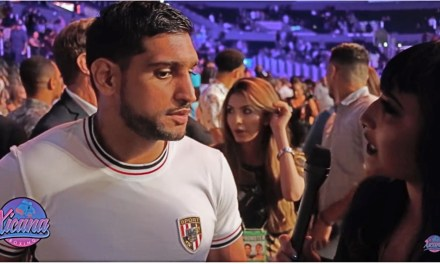 "Fight Breaks out as Xicana Boxing interviews Amir ""King"" Khan"