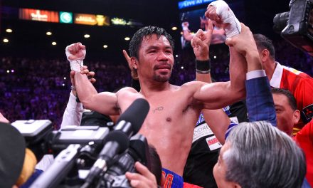 Manny Pacquiao Turns Threats of Crucifixion Into Motivation for a Second Coming