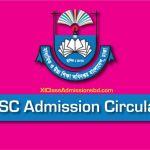 HSC Admission Circular 2020