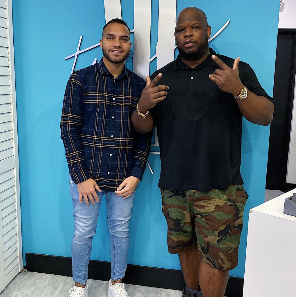 mayhem lauren miami beach barbershop