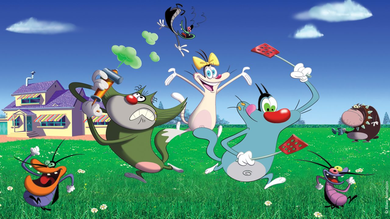 Oggy And The Cockroaches Among The Nominees Of The 2020 Prix Export Xilam Animation