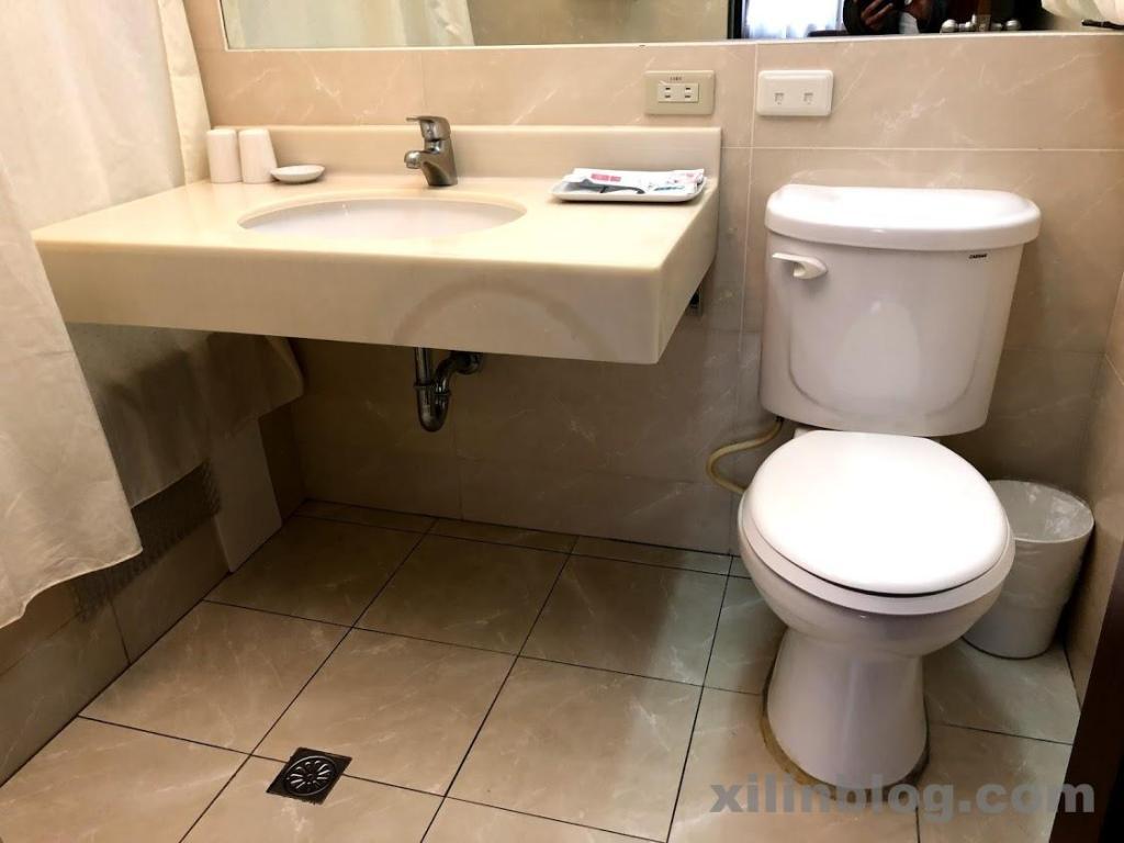 アスターホテルのトイレ