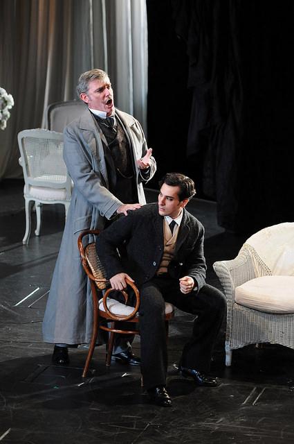Àngel ôdena i Leonardo Capalbo a La Traviata Foto ® A Bofill