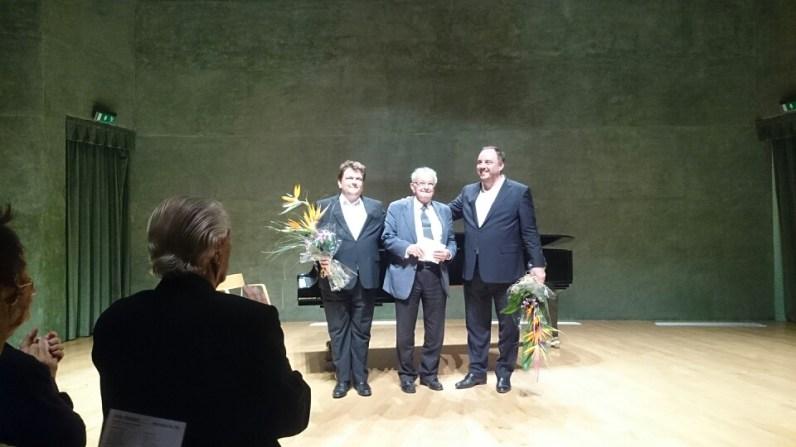 Alexander Schmalcz, Jordi Roch i Matthias Goerne, Foto Paco