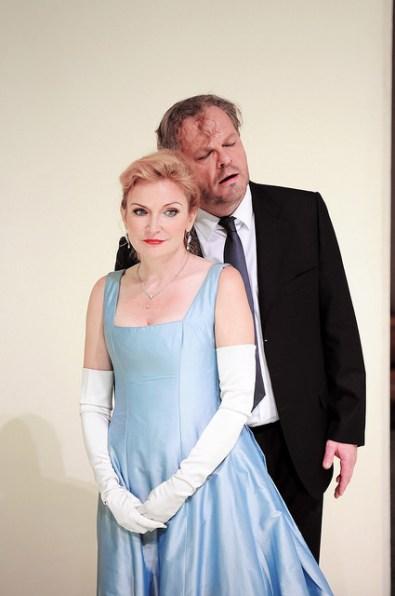 Anne Schwanewilms (Arabella) i Michael Volle a Arabella GT Liceu Foto ® A Bofill Gentilesa del Gabinet de Premsa