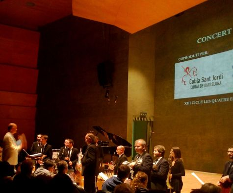 Cobla Sant Jordi 16/11/2014 Foto IFL