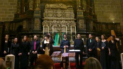 Cor de Cambra Francesc Valls a la Capella del Sant Crist de Lepant de la Catedral de Barcelona, 15 de novembre de 2014 Foto IFL