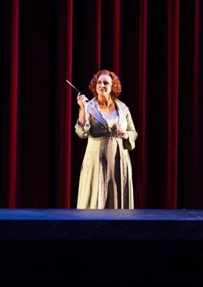 Iréne Theorin (Venus), Tannhäuser a Viena. Fotografia © Wiener Staatsoper / Michael Pöhn