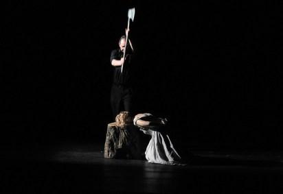 Escena Final de Maria Stuarda al Gran Teatre del Liceu. Fotografia © A Bofill