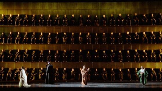 Lohengrin a Amsterdam, Producció de Pierre Audi. Fotografia Ruth Walz
