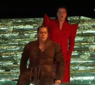 Stig Andersen (Siegfried) i Catherine Foster (Brünnhilde) a Siegfried Àmsterdam 2014