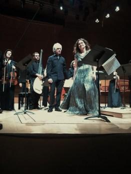 Il Giardino Armonico,, Giovanni Antonini i Patricia Kopatchinskaja a L'Auditori. Foto IFL