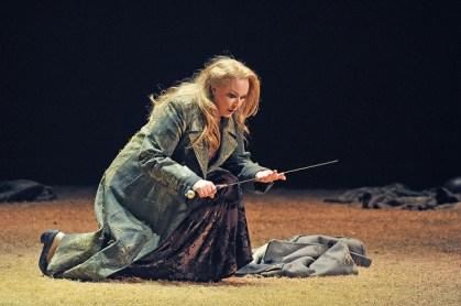Iréne Theorin com a Brünnhilde a Siegfried. Fotografia ® Antoni Bofill