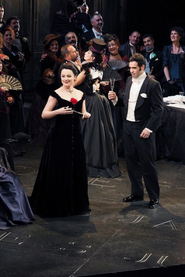 Hartig i Jordi a La Traviata al Gran Teatre del Liceu Fotografia ® A Bofill