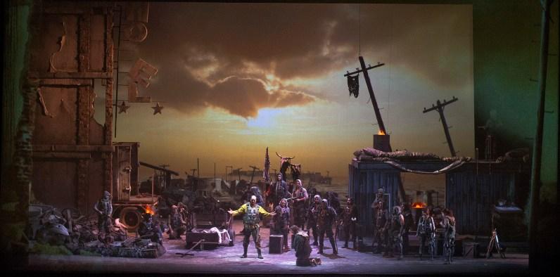 Parsifal al Teatro Colón de Buenos Aires, producció de Marcelo Lombardero 2015 Foto Arnaldo Colombaroli