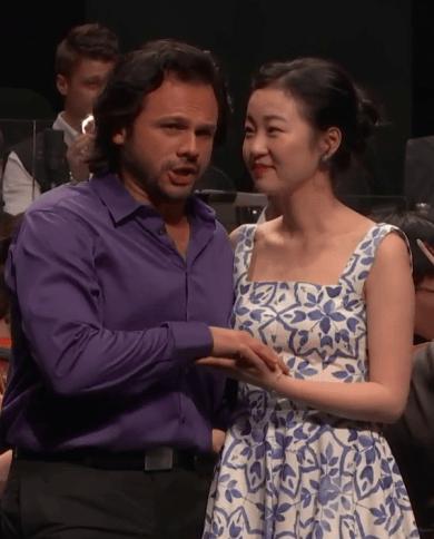 Atalla Ayan (Fenton) i Ying Fang (Nannetta) Verbier 2016