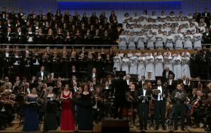 Inauguració del Festival de Lucerna 2016. 8ª simfonia de Gustav Mahler