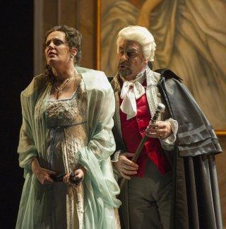 Eva Maria Westbroek i Carlos Álvarez a Tosca al Teatro Colón Fotografia Máximo Parpagnoli:
