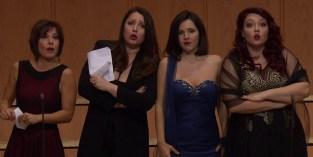 Laura Polverelli, Barbara Frittoli, Laura Giordani i Judit Kutasi