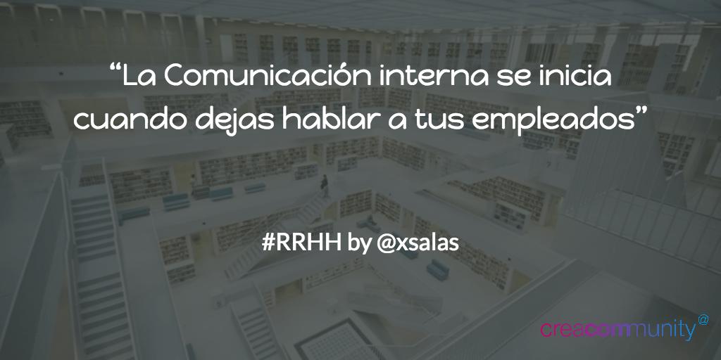 Comunicacion Interna by Ximo Salas RRHH