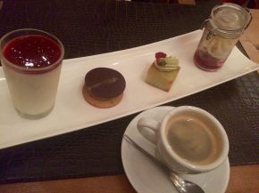 coffee and dessert