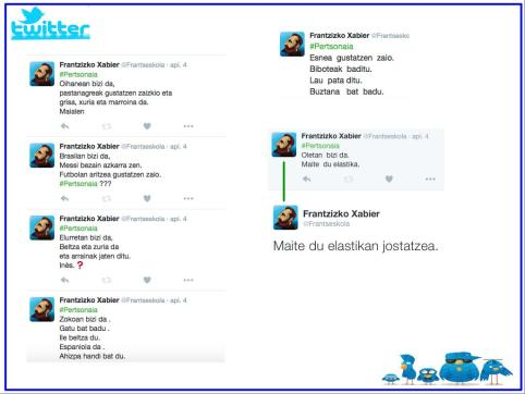 Apprcohe communicative - Twitter