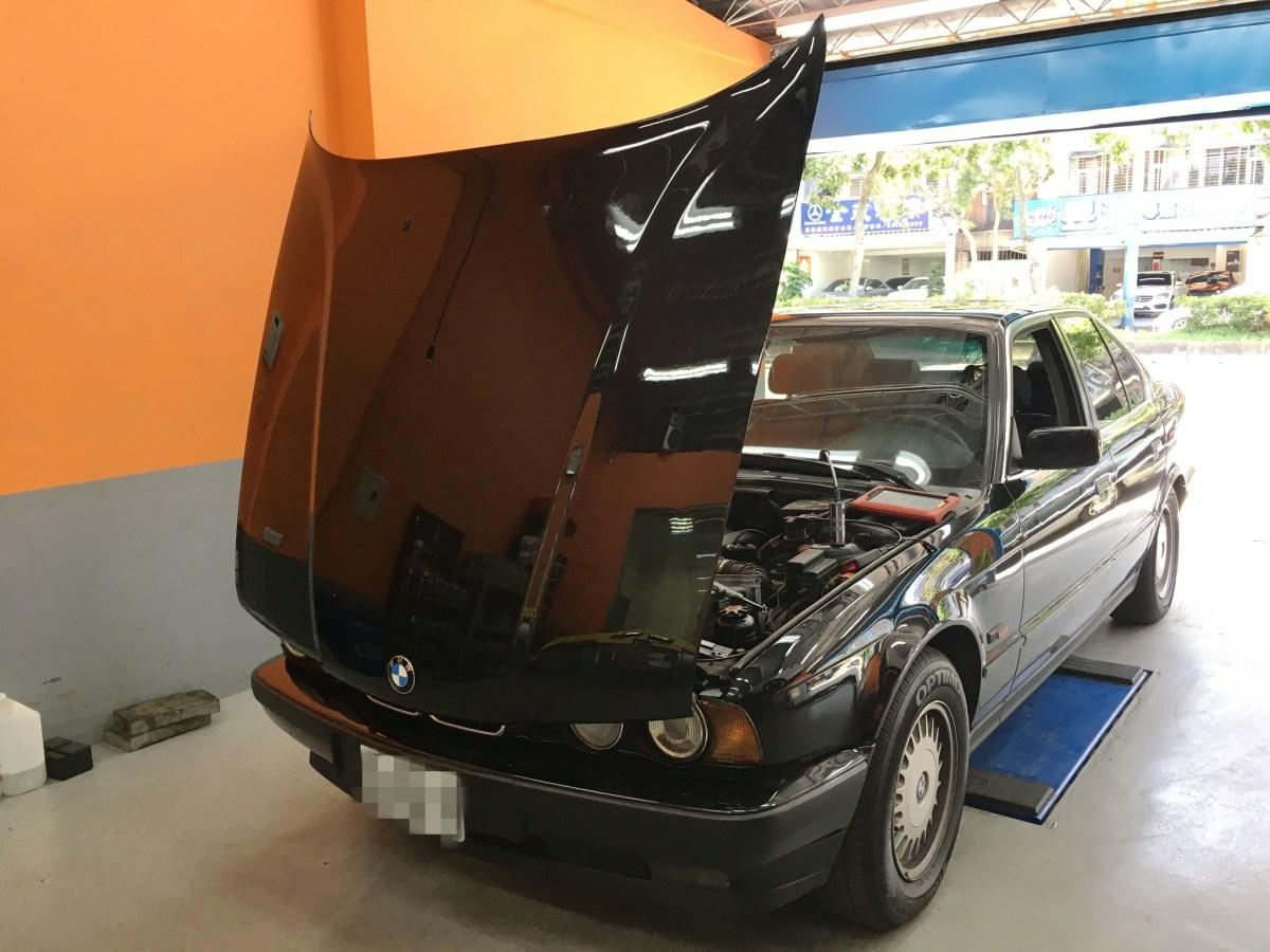 BMW E34 525 更換鼓風機&鼓風電阻 – 欣承汽車保養所