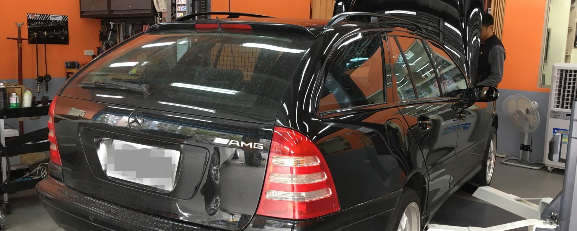 Benz W203 C32KT 增壓器漏油 – 欣承汽車保養所