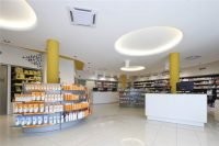 Modern Small Pharmacy Interior Design - Retail Shop ...