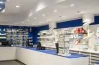 Sea Element Pharmacy Design Interior Store Decoration ...