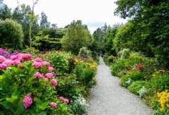 Garden on Garinish island in western Ireland.