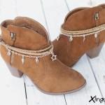 pulsera botas estrellas par
