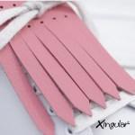 flecos zapatillas rosa cuarzo detall