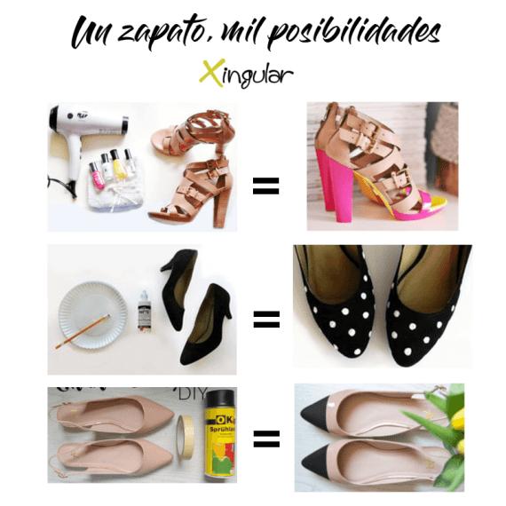 ideas adornar zapatos-Color