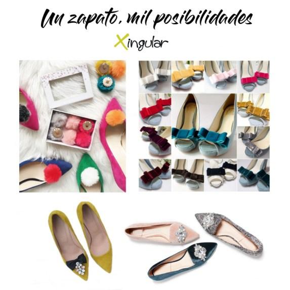 ideas adornar zapatos-Clips