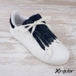 flecos zapatillas potro azul marino
