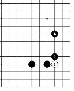 Diagram 11 - Black has Support