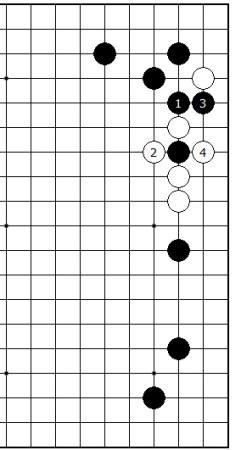 Diagram 3 - Black sente