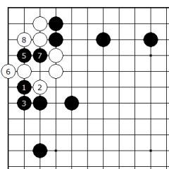 Diagram 10 - Black has no strategy