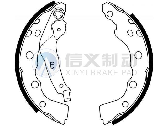 Brake Shoe Set:MR249796--TAIZHOU CHUNFENG AUTO PARTS CO.,LTD