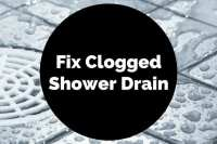 How to Fix a Clogged Shower Drain | Xion Lab