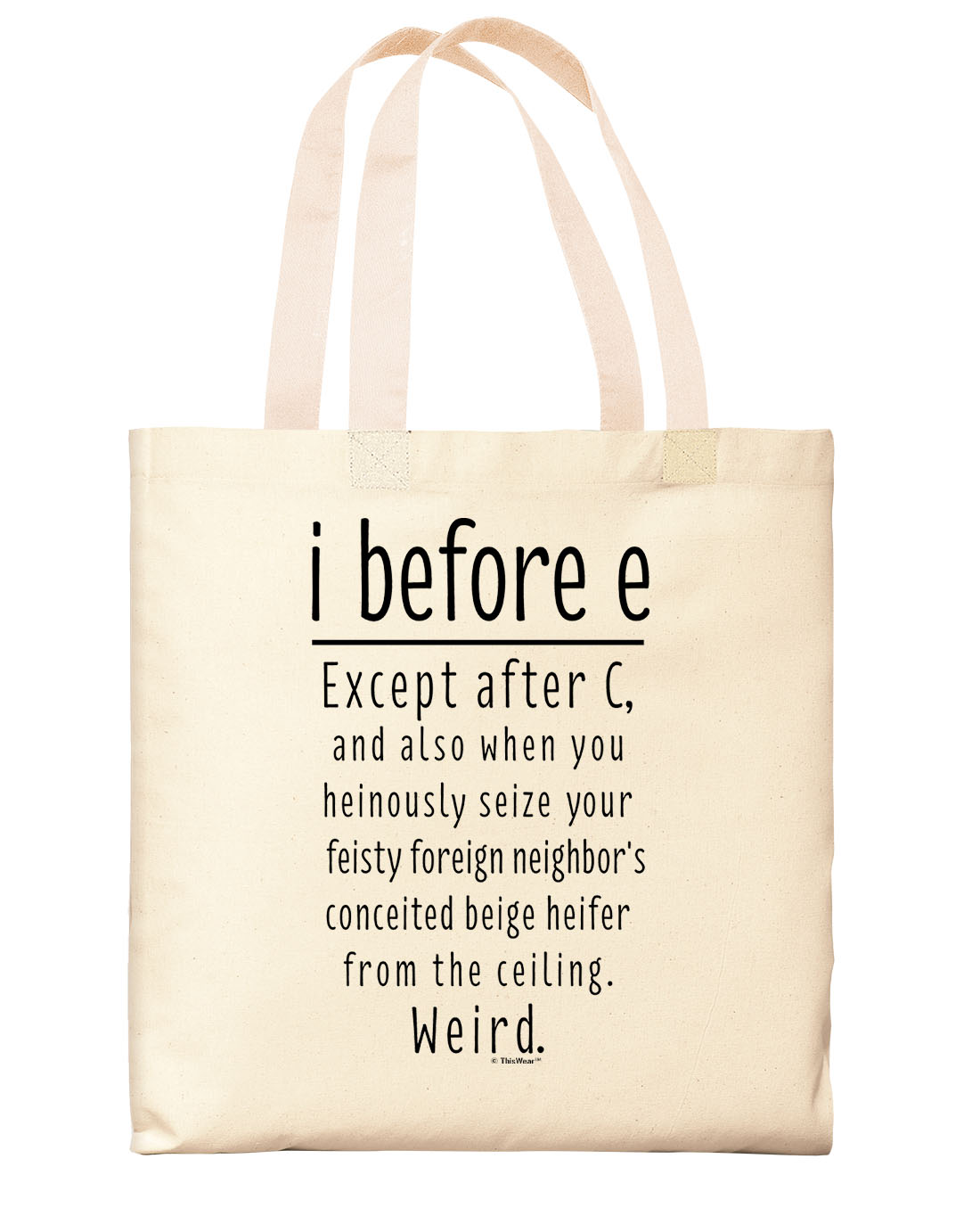 Ts For Bookworms I Before E Except After C School