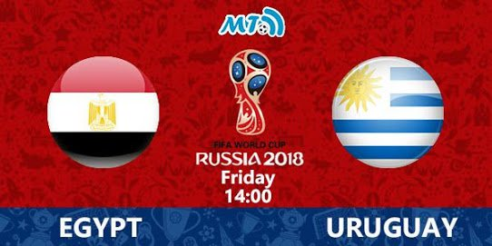 2018 FIFA World Cup- Egypt Vs Uruguay-Preview! Live Streaming Information, Predicted Teams, World Cup Fixtures, Team News, Kick-off times