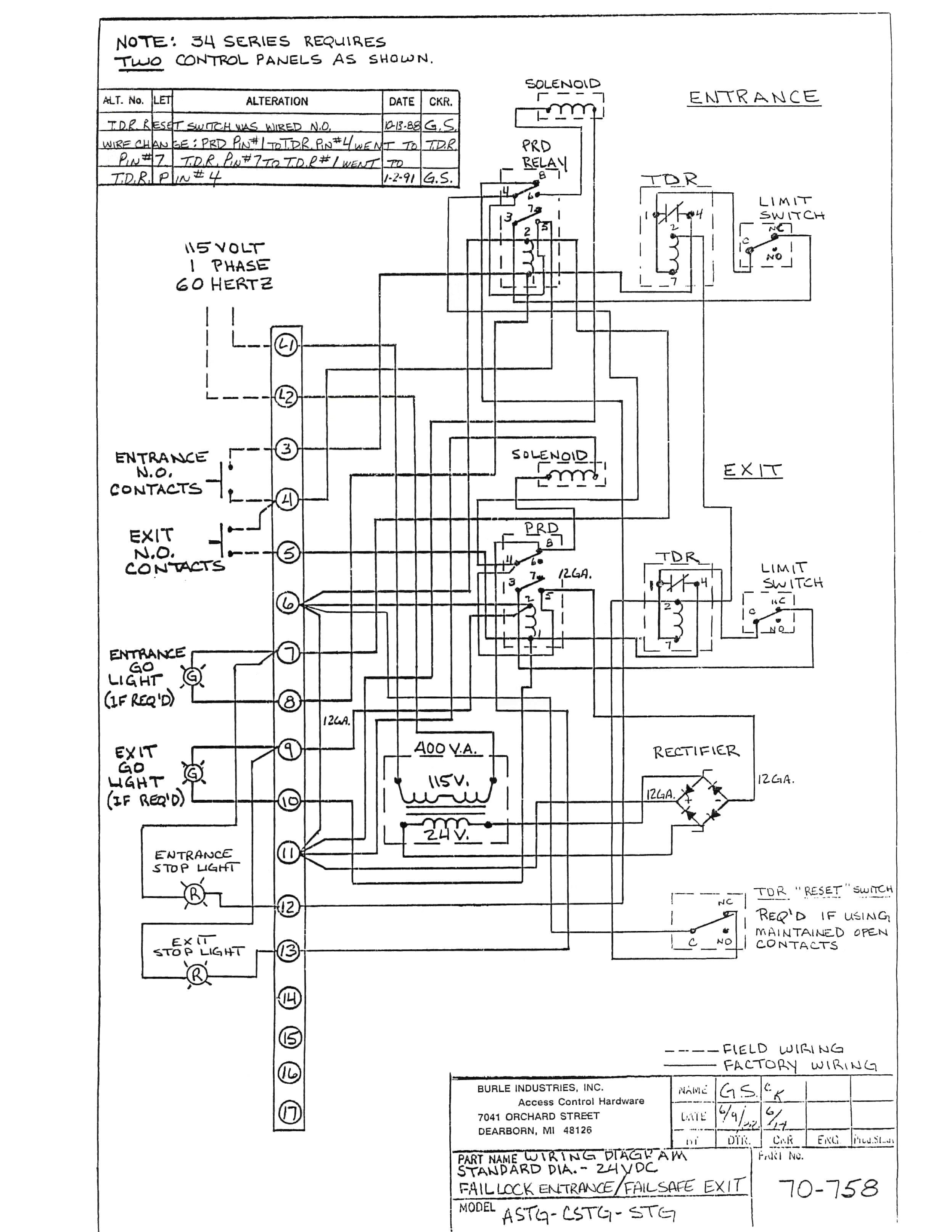 trane ycd 060 wiring diagram