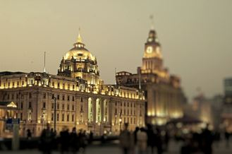 "Shanghai - el ""Bund"""