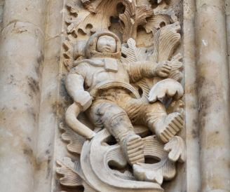 Catedral de Salamanca - Astronauta