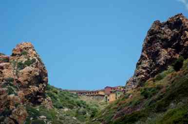 Vistas desde la Laveria Lamarmora de Nébida