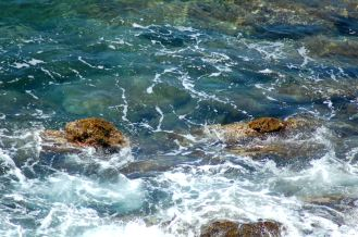 El azul del mar
