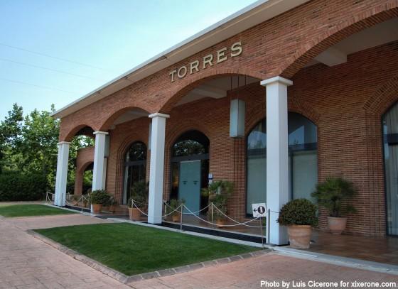 Centro de visitantes de las Bodegas Torres