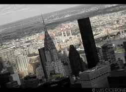 El Chrysler Building Queens al fondo.